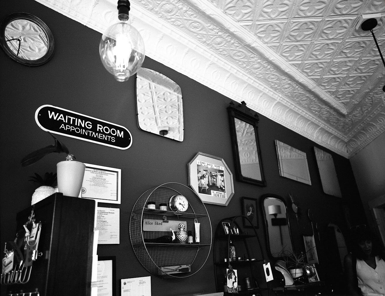 a tiny magic triangle - AT OUR ORIGINAL WINNEBAGO LOCATION, WE OFFER HAIRCUTS FOR BOTH MEN AND WOMEN WITH ANY STYLE NEEDS.Last-minute bookings available, but please call or book online before stopping in. We do take walk-ins and have more availability for this, but your time is valuable too, so let us know you are coming.