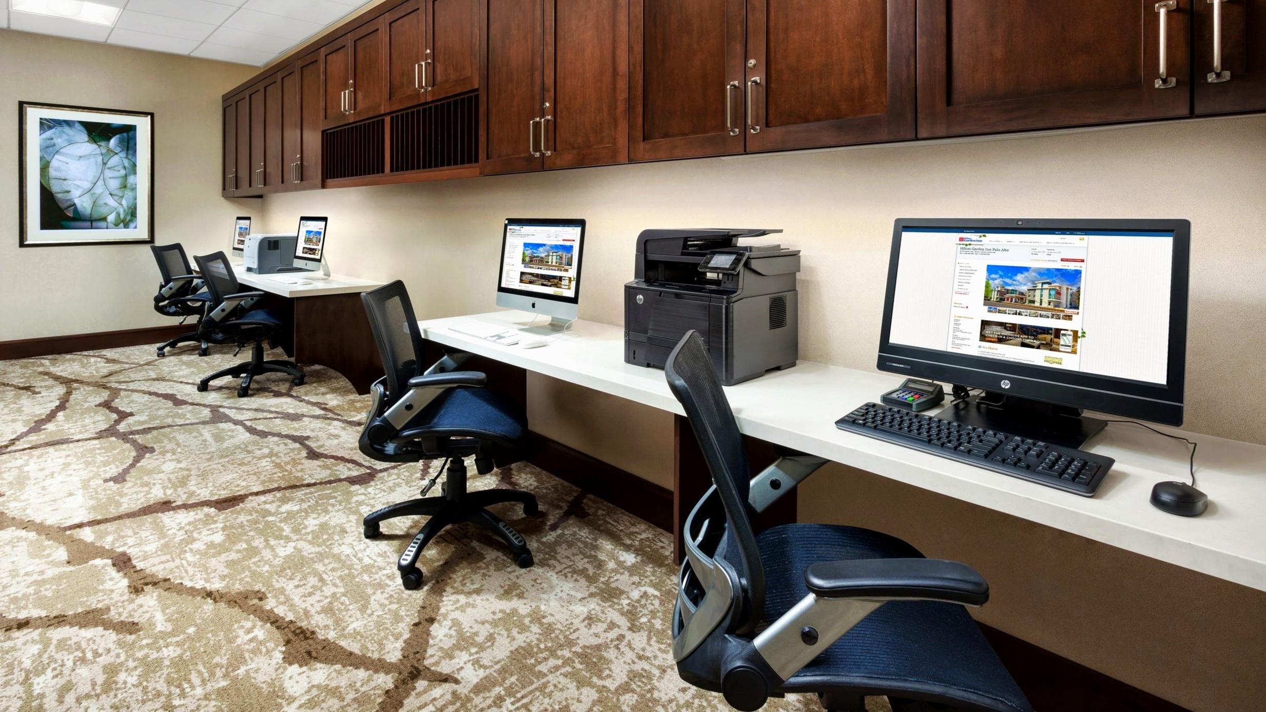 Business Center at Hilton Garden Inn, Palo Alto