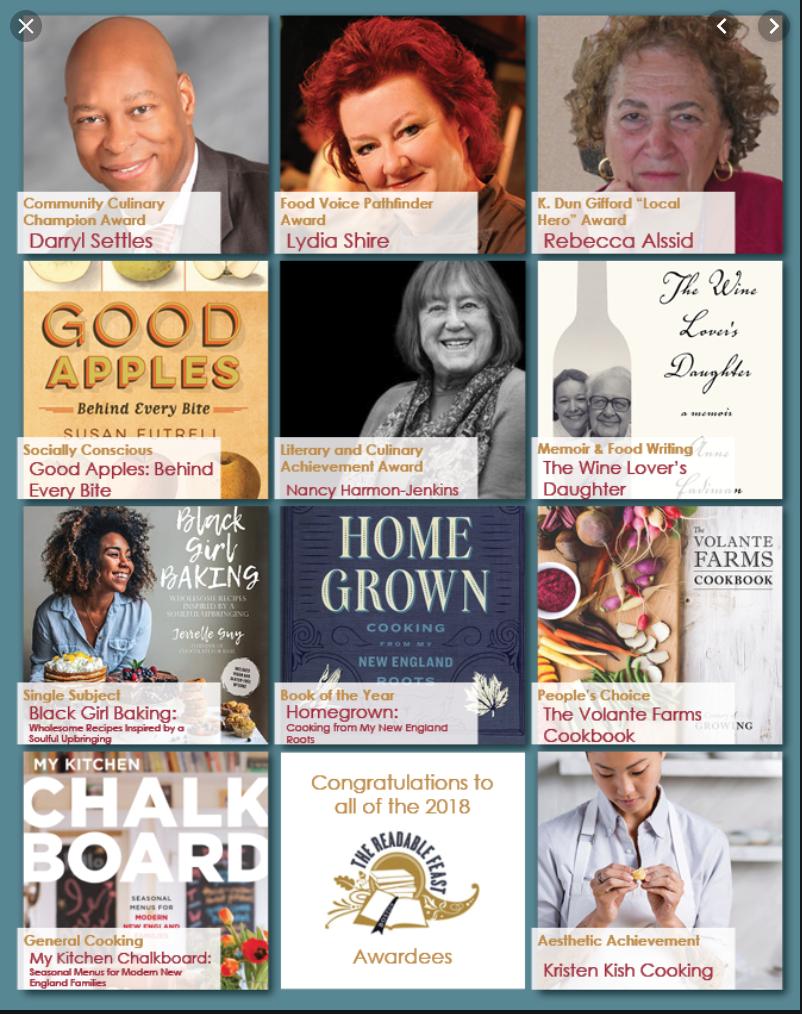 2018 Readable Feast Award WINNER -