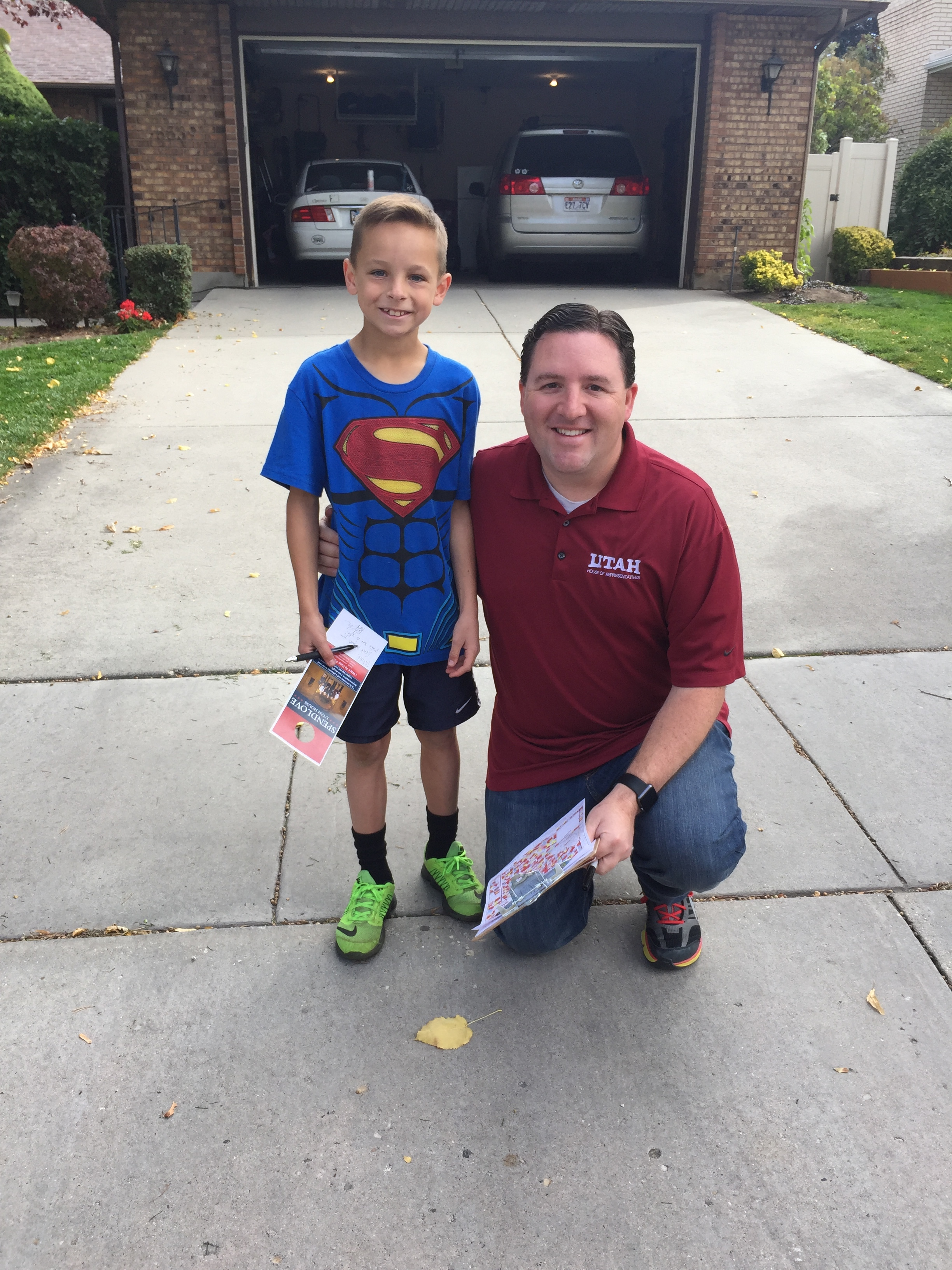 161015 - Canvassing with Young Constituent.JPG