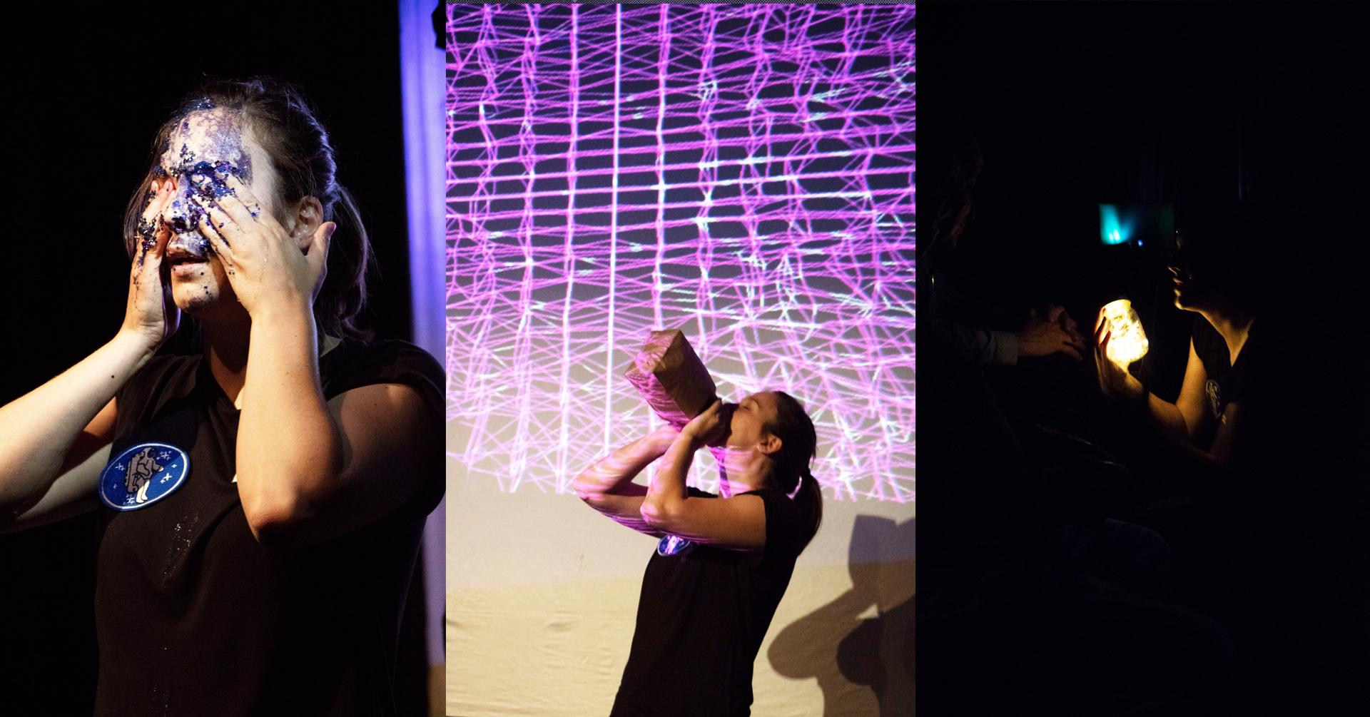 Triptyque de moment, donc le dernier avec le public, avec Andrée-Anne Giguère.
