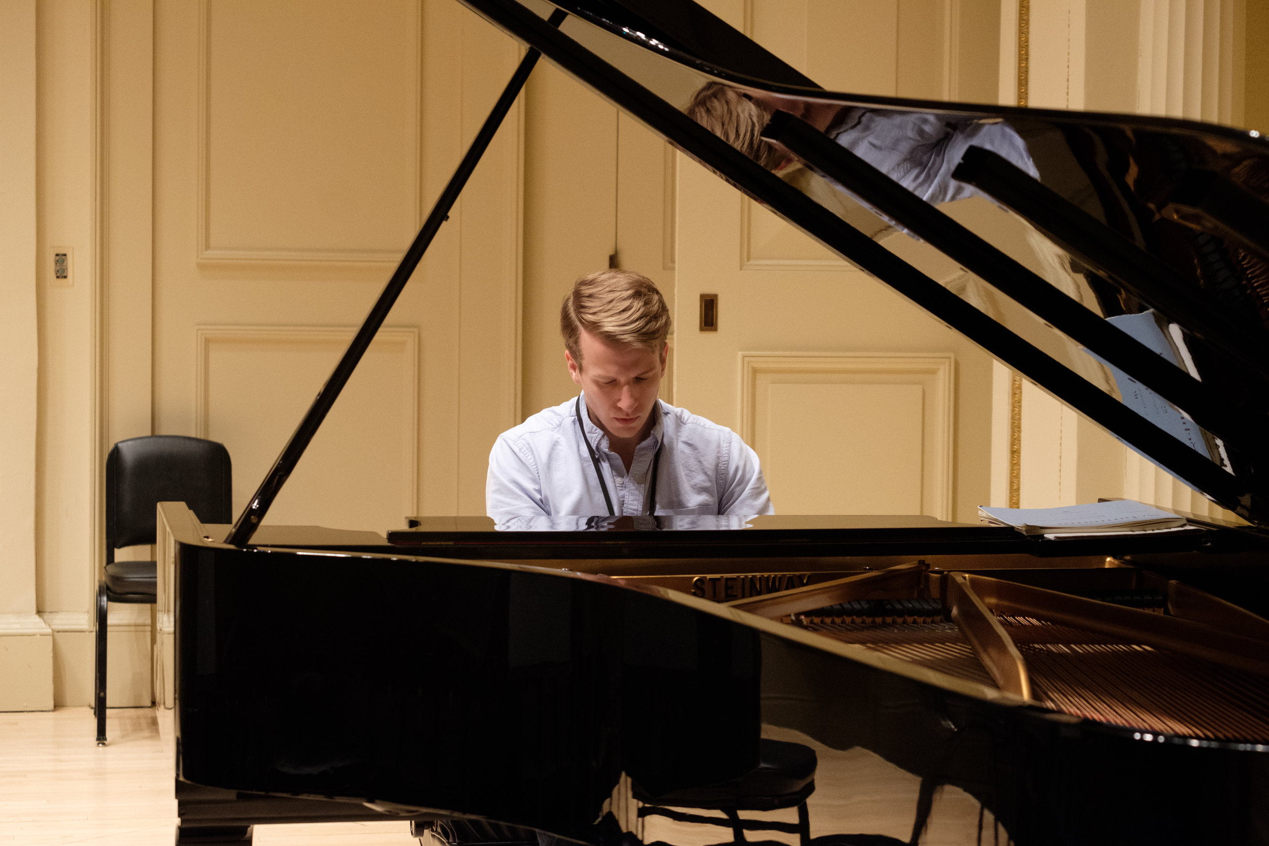 Mission - Founded in 2005 by pianist Elena Leonova, the New York Piano Society is dedicated to discovering, developing, and presenting pianists across diverse professions with opportunities to perform as soloists and alongside distinguished artists. NYPS is committed to bringing high-quality classical music programs to our community.