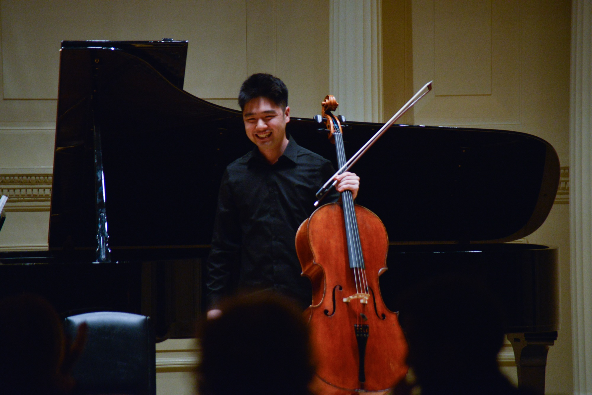 Guest Artist James Kim, cello
