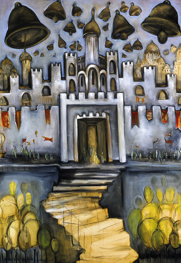 """THE GREAT GATE OF KIEV I  40"""" X 30""""  Value of $995 // Starting Bid: $300  Also available in 30"""" X 20"""" and other sizes upon request"""