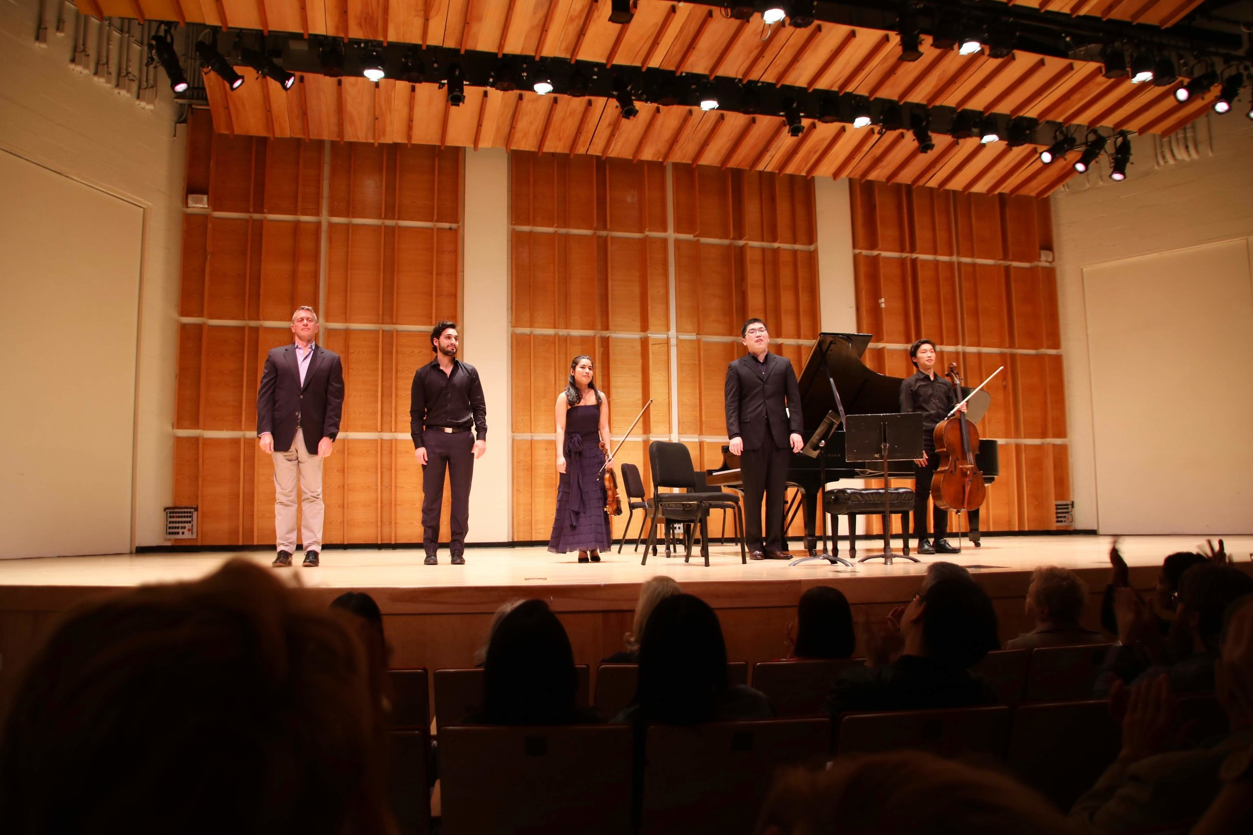 """4 """"Kaufman Family Seats"""" tickets to our Opening Concert in Merkin Hall at Kaufman Music Center  Value of $250 // Starting Bid: $150  October 12, 2019 7:30 pm"""