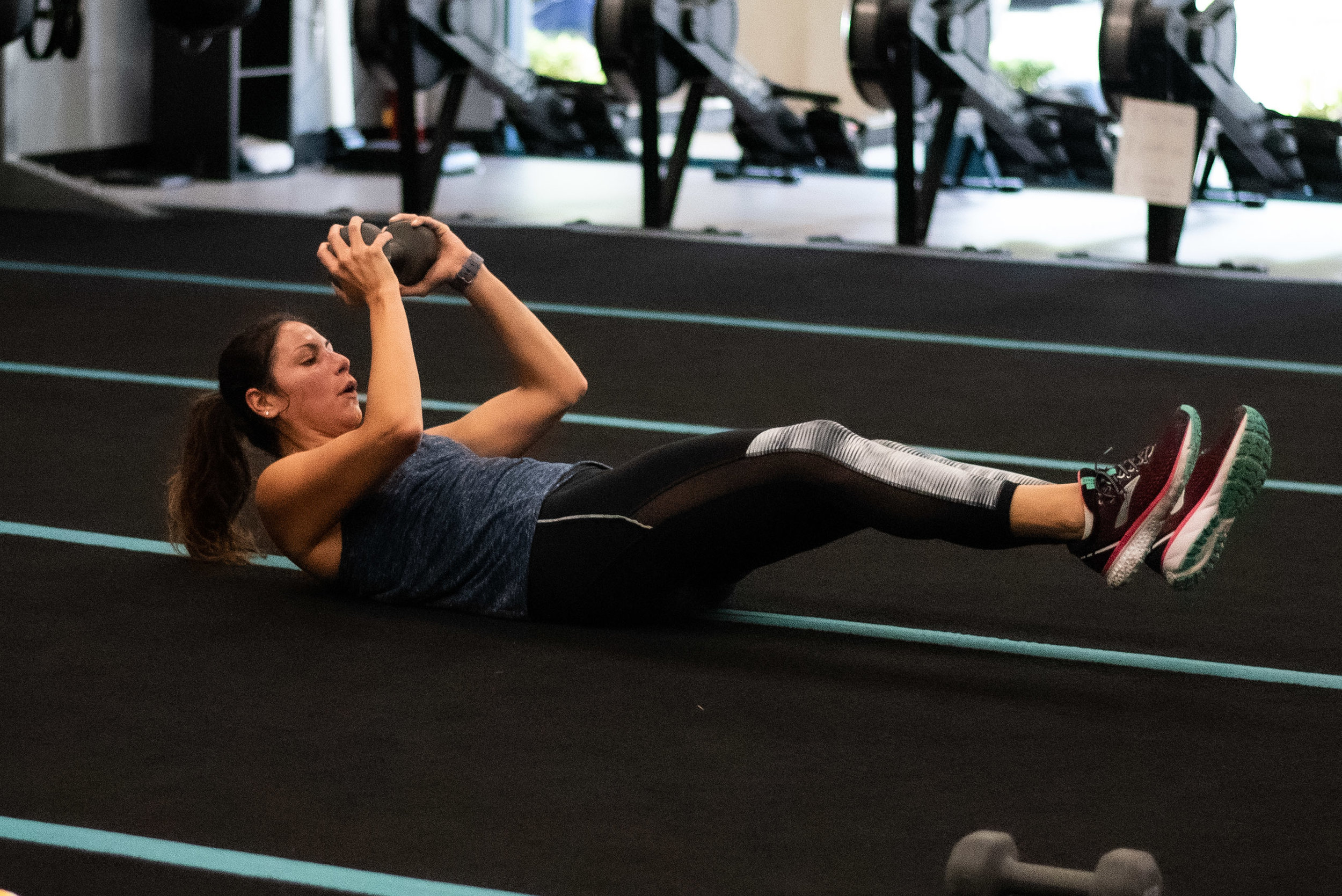 Dumbbell exercising