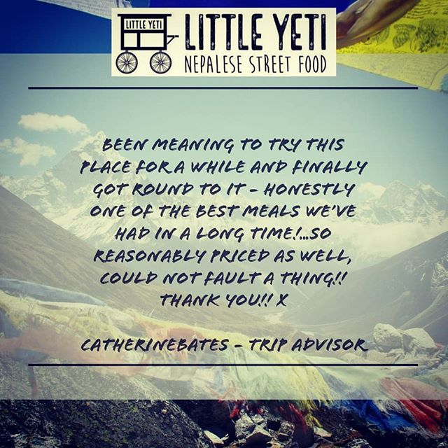 Thank you so much for letting everyone how much you enjoyed the food.  If you've had a meal at The Little Yeti it would mean so much to us if you leave us a review on Trip Advisor or Google. Help us get the word out!!