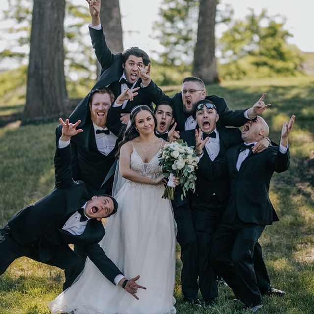 A crazy crew to say the least! Had a blast shooting this wedding for RJ & Gabriella.  Enjoying the weather today and then off to the next wedding tomorrow!