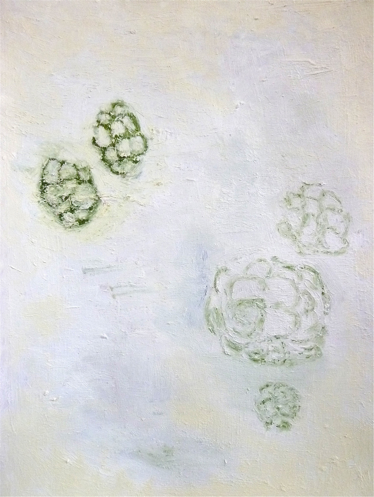 """Systems series, 2012, oil on paper dimensions, 30 x 22 """""""