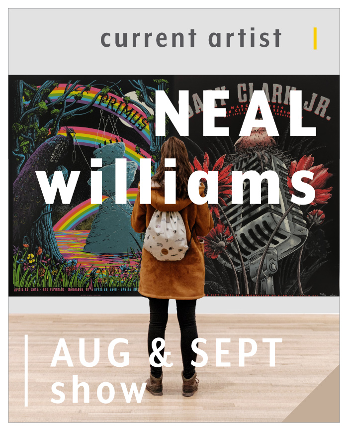 Neal Williams - August and September featured artist