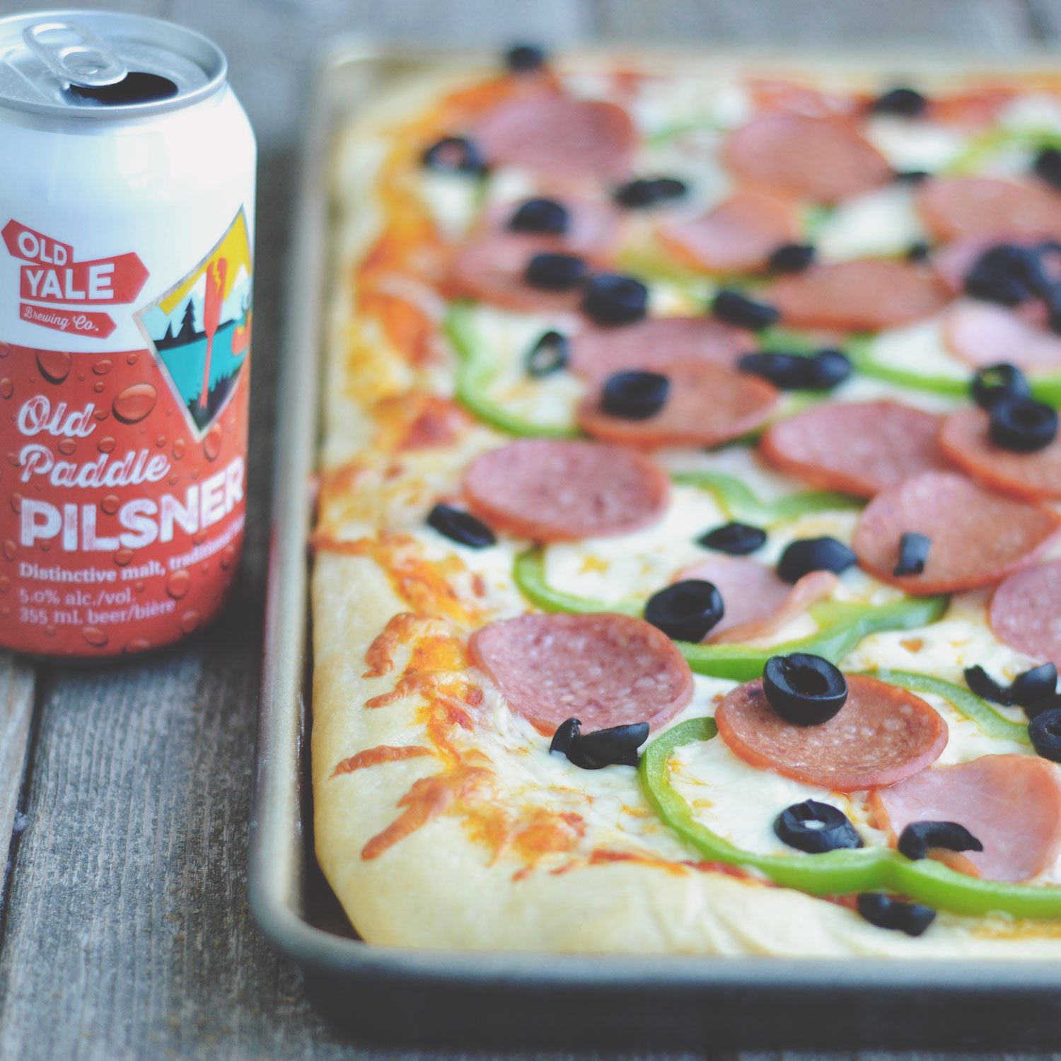 Homestyle Beer Dough Pizza