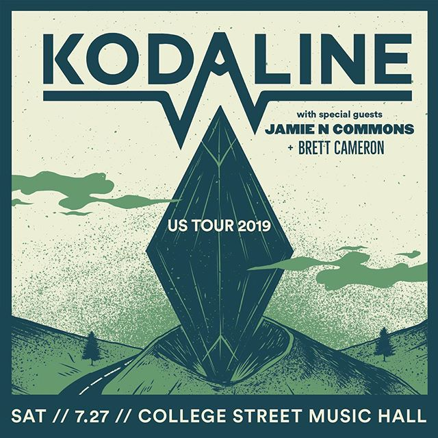 I am UNBELIEVABLY excited to announce that my band & I are opening for @KODALINE & @jamiencommons at College Street Music Hall in New Haven, CT on July 27. Easily some of my favorite artists in the world & a dream venue. Truly an honor. Let's pack this place out! | Link to tickets in bio. Love you x
