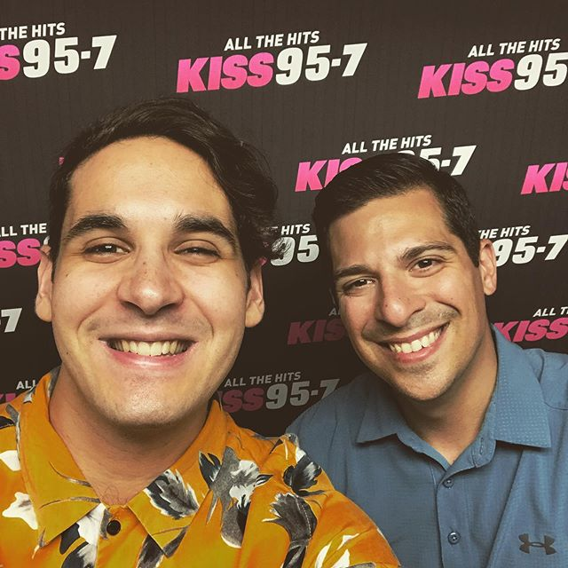 Always a pleasure talking to Gavin at @kiss957fm — such a great guy and the conversation is always dynamic. We discussed the upcoming show with @kodaline & @jamiencommons on July 27 at College Street Music Hall as well as other shenanigans. Link to conversation & tickets to show in bio. Thanks again @gavinonair — you are an awesome human 🙏