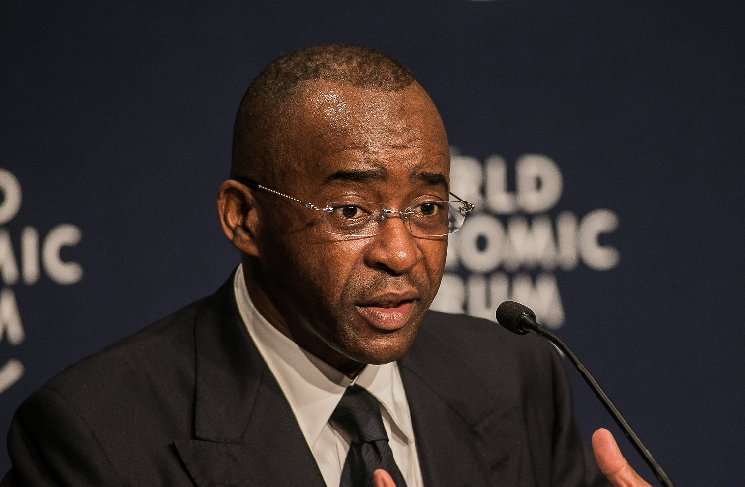 Mr. Strive Masiyiwa at the World Economic Forum on Africa 2013. Photo: World Economic Forum / Benedikt von Loebell