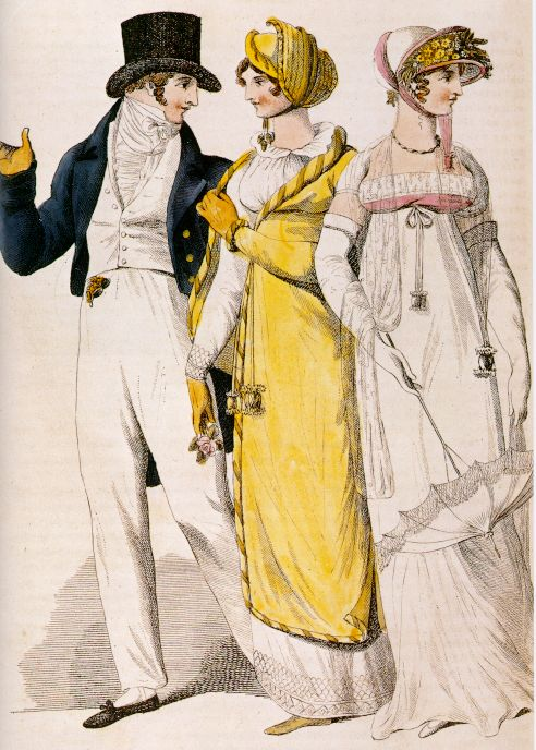 An English fashion plate from 1810
