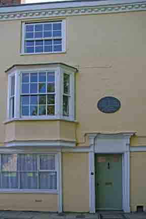 Jane Austen's home in Winchester