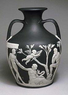 Portland Vase , circa 1790, made by Josiah Wedgwood for the Duke of Portland