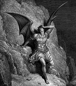 Me Miserable! Which Way Shall I Fly, Illustration to Paradise Lost by John Milton, by Gustave Dore