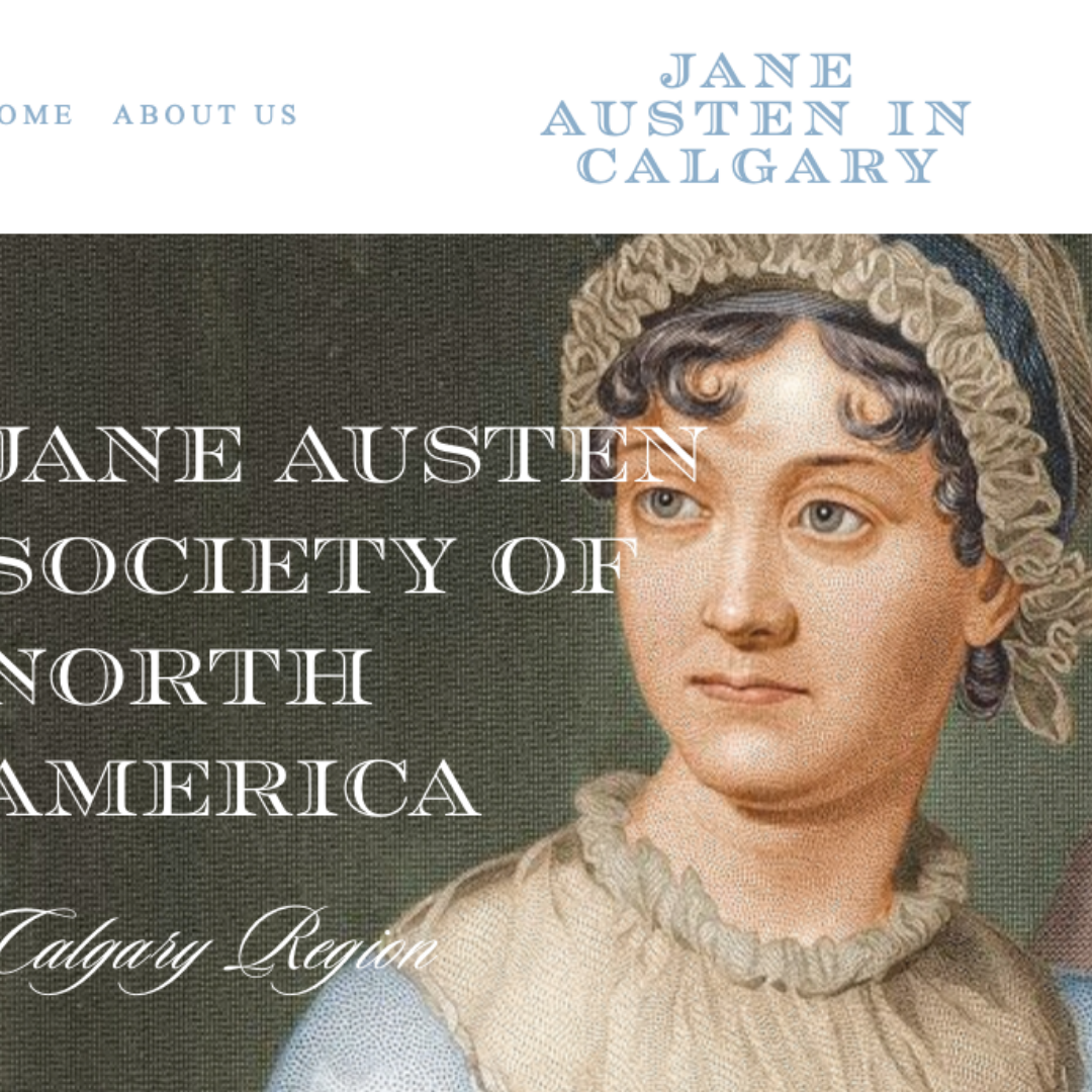 The New JASNA - Calgary Region website