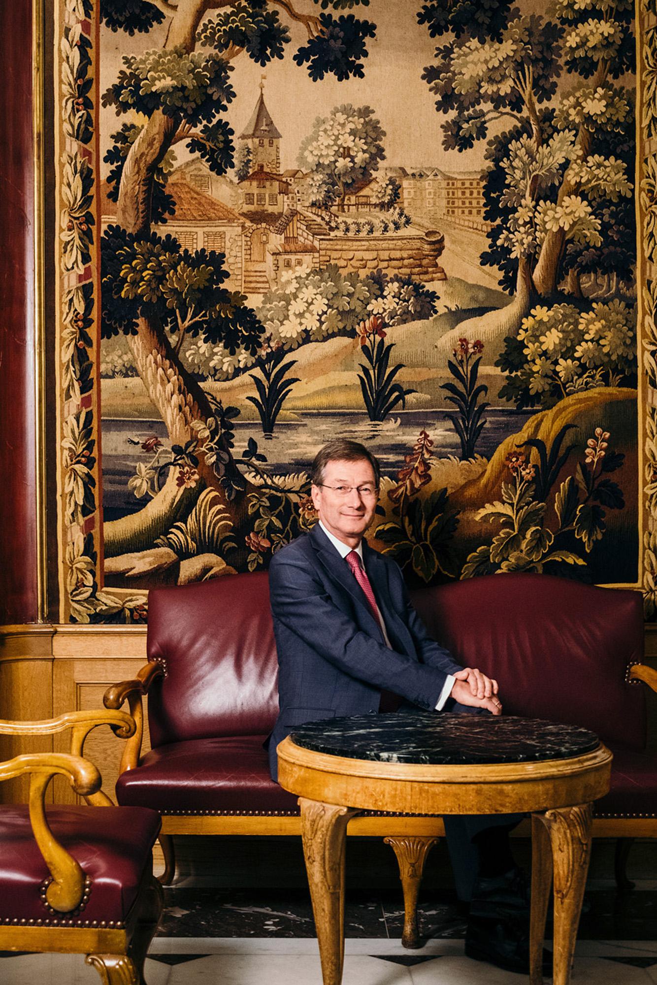 Wilhelm Luxem, Hotelier