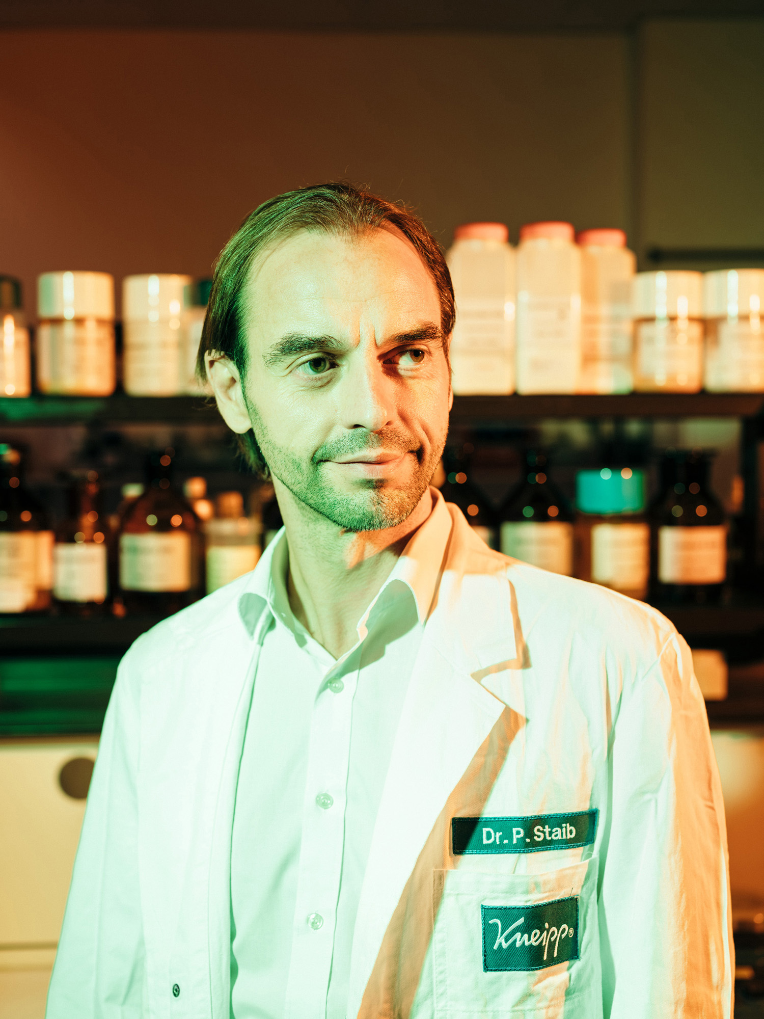 Peter Staib, Entwicklungsleiter Kneipp