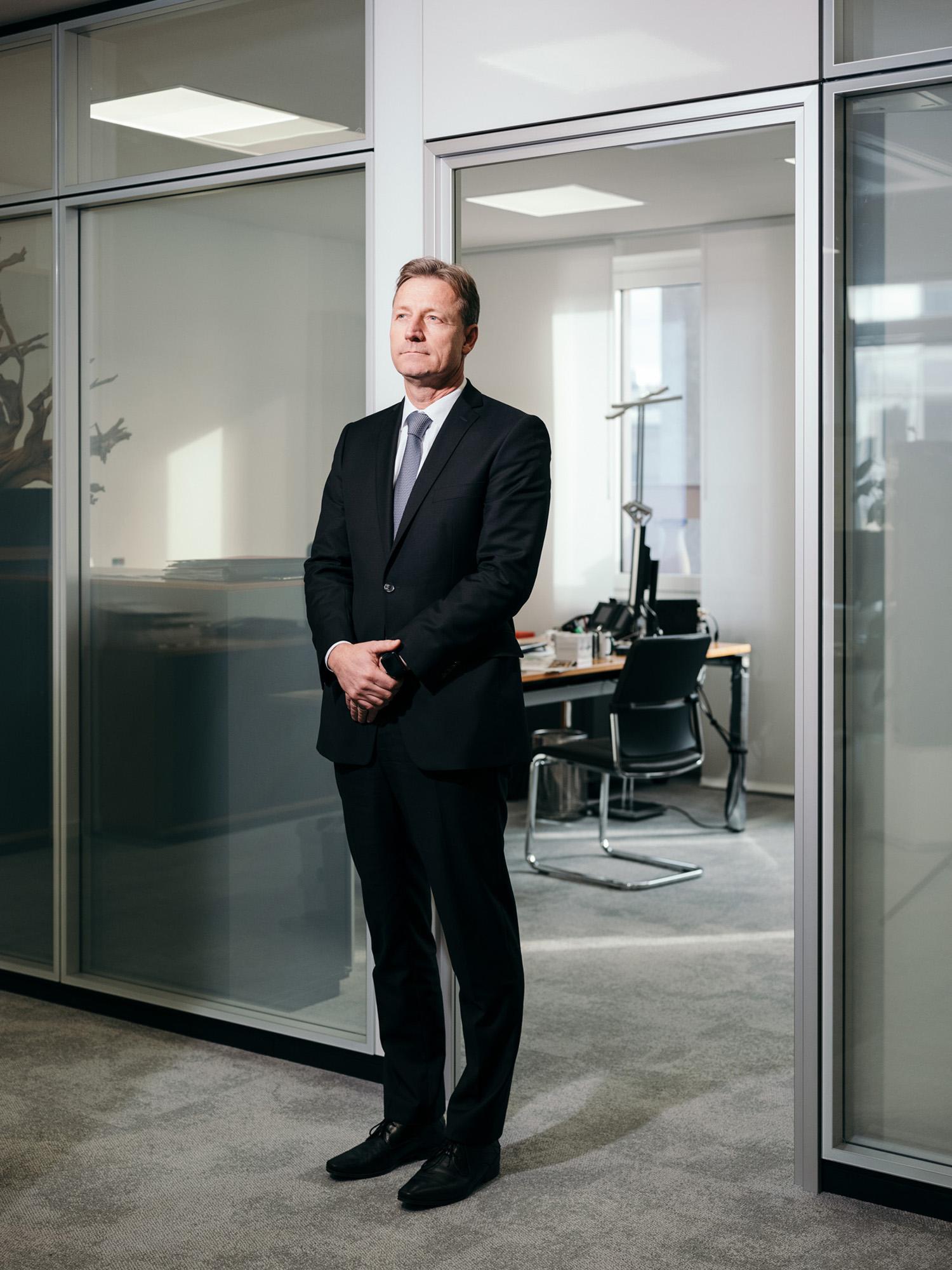 Michael Bentlage, Bankier