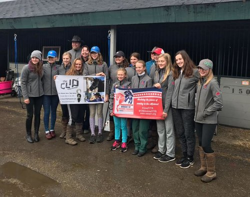 Area IV Young Riders Fall 2018