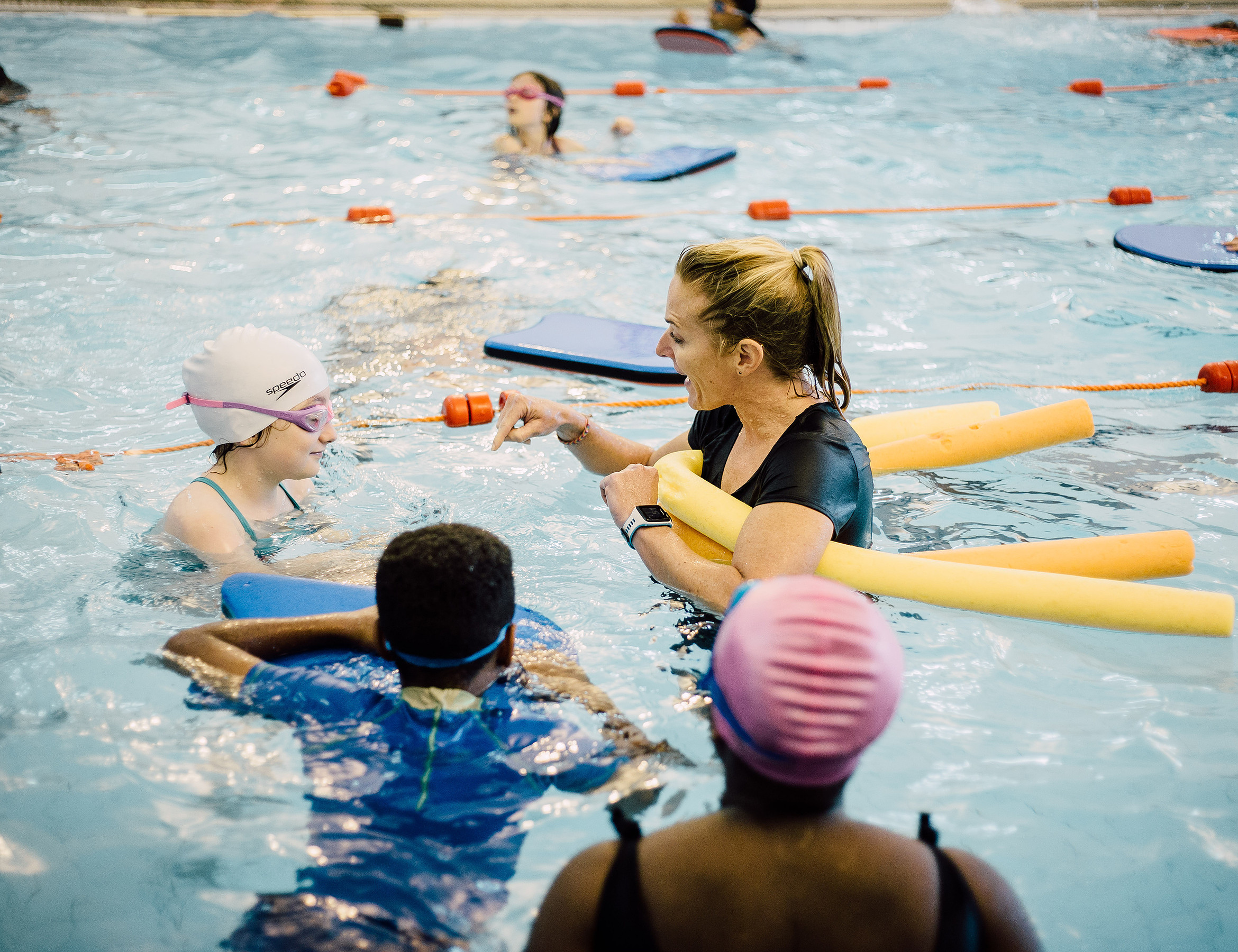 Local Schools - Kimberley Swim Clinics is passionate about getting all local children swimming and so works with Wandsworth primary schools to help them meet National Curriculum Requirements.The National Curriculum expectation is that by the time children leave primary school they should be able to swim at least 25m unaided. Unfortunately in Wandsworth Borough many children are leaving primary school unable to swim 25m and at Kimberley Swim Clinics we are determined to help change this.We have developed a range of affordable clinics specifically for children referred to us by their schools. For more information Wandsworth primary schools can call Kimberley on 07771 907 553 or email kim@kimberleyswimclinics.co.uk.