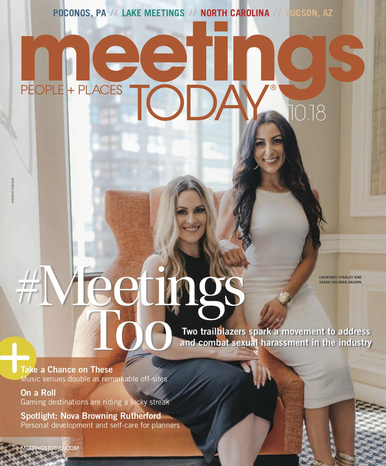 #MeetingsToo | Meetings Today