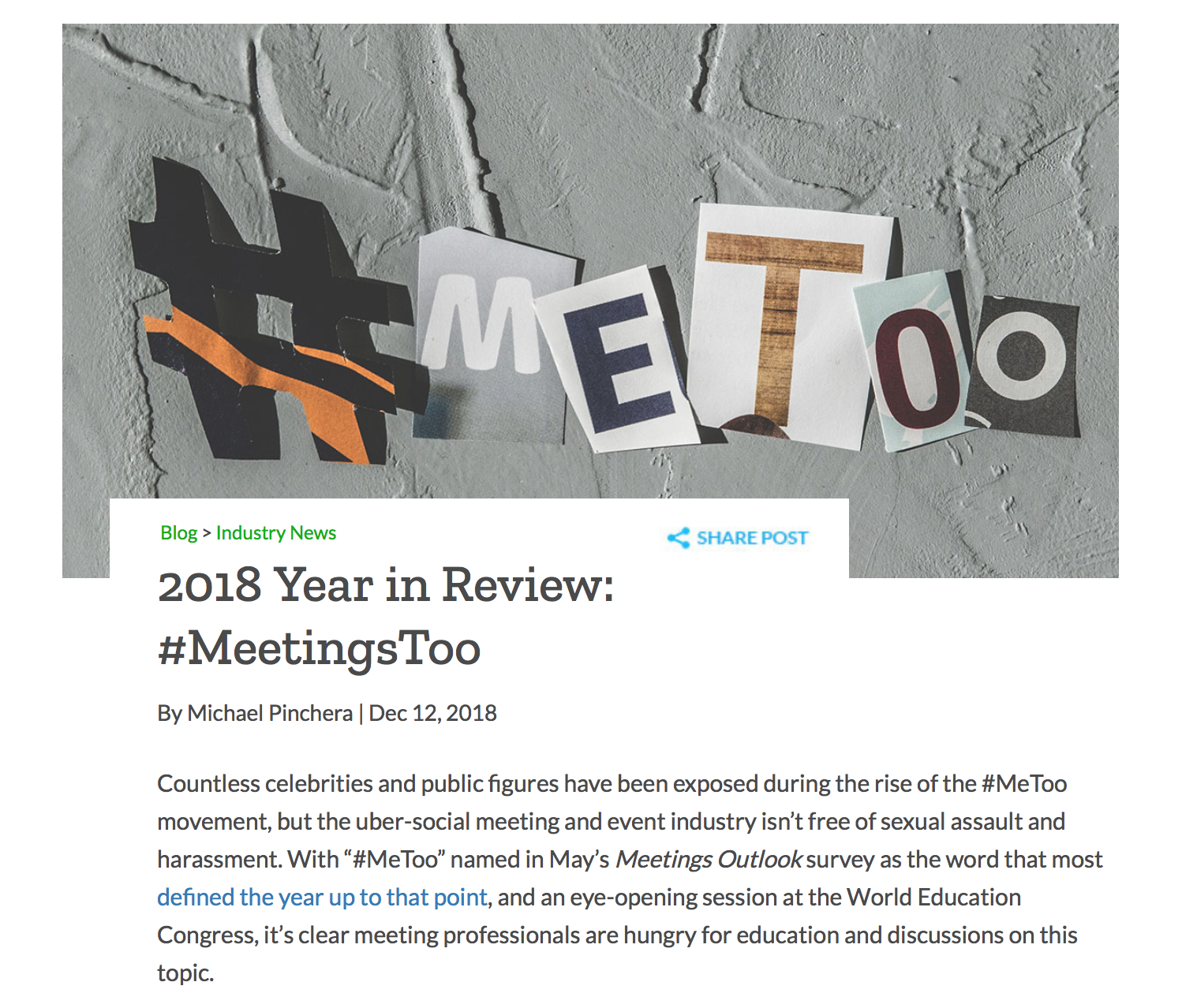 2018 Year in Review: #MeetingsToo | MPI