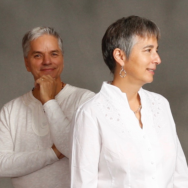 Gaudry has a Bachelor's degree in Vedic Philosophy and is a yoga and vedanta teacher. Pauline has a Bachelor's degree in Education and is a classically trained pianist. Additionally, the Normands are both professionally trained meditation teachers and certified Ayurvedic practitioners.