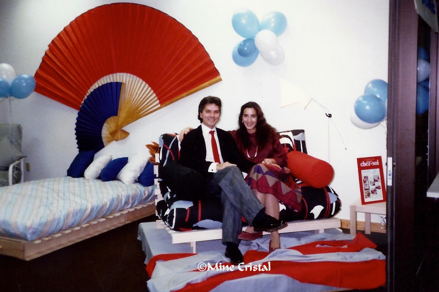 Between 1981 and 1993, the Normands introduced and marketed the futon in many countries.