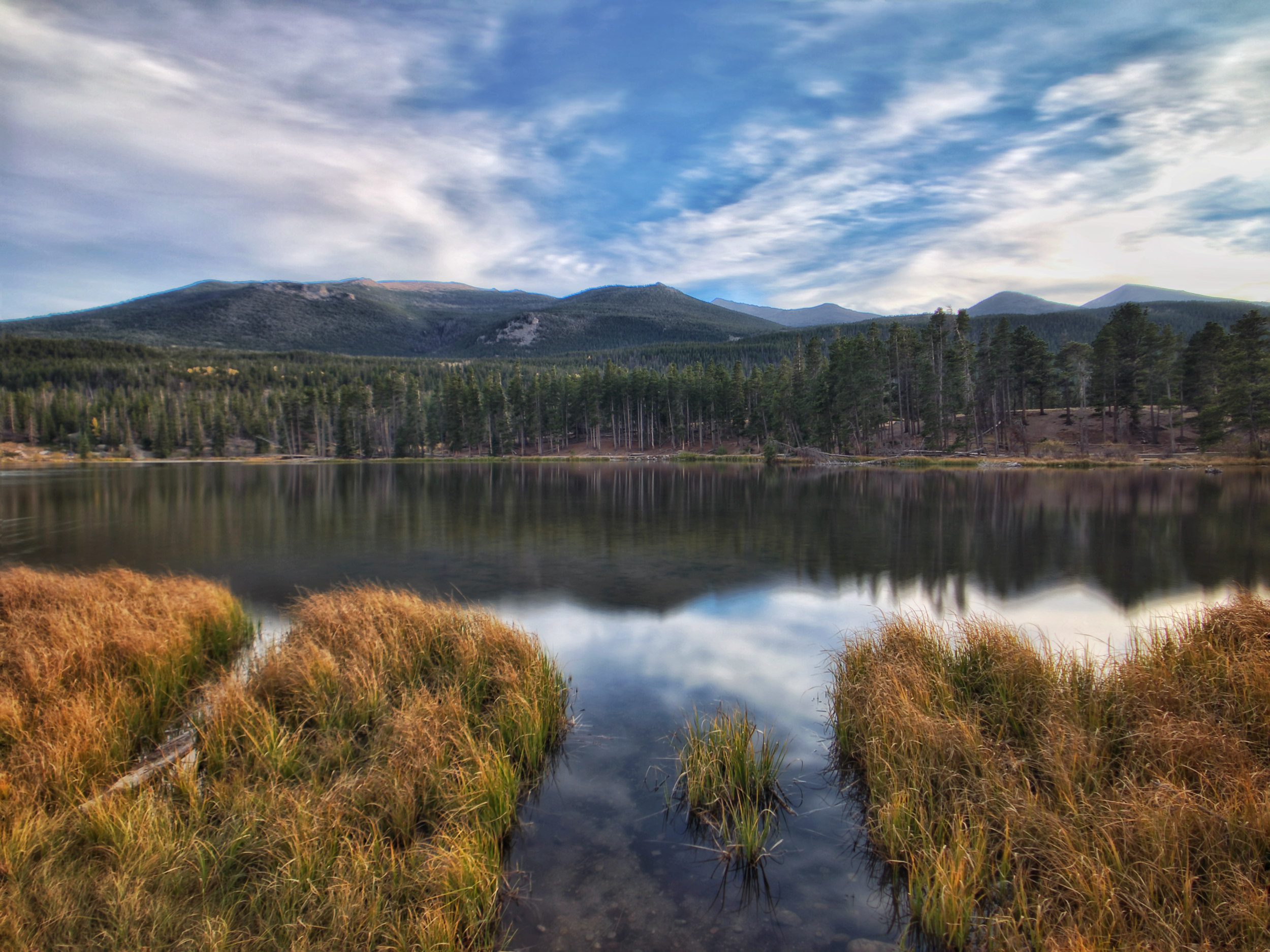 Prague lake @ Rocky Mountain national park