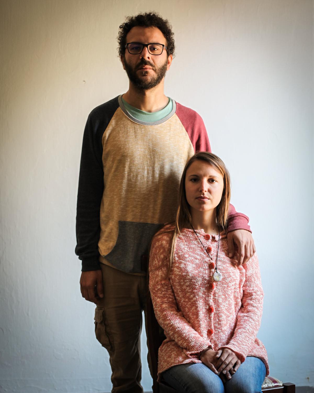 Luca and Clara, Italy