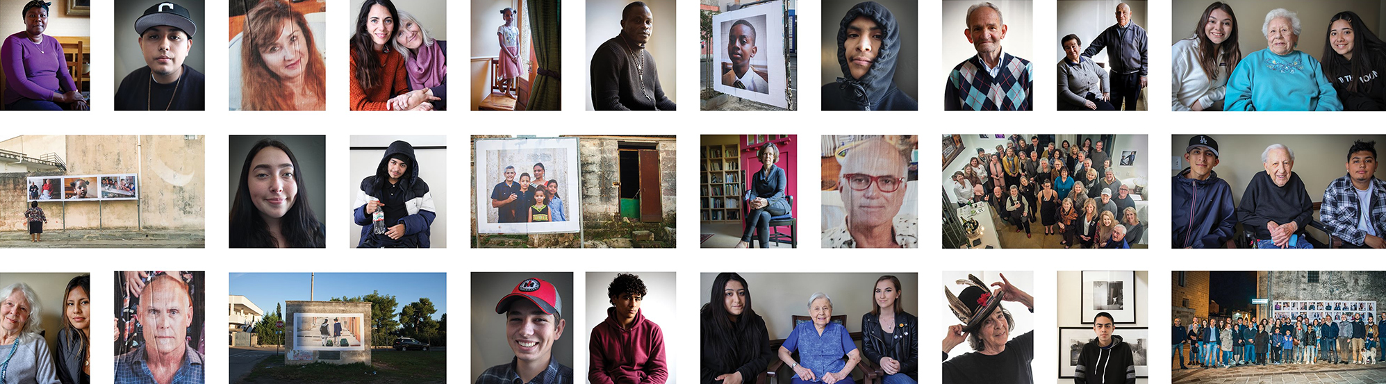 Through fine art portraiture Facing Ourselves continues to drive the important conversation of merging cultures and humane communities.