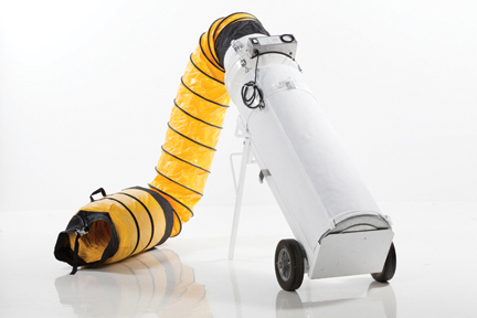 RamJet™ Boss - The RamJet™ Boss is the most effective and versatile multi-purpose portable radial air scrubber and source capture machine available on the market.