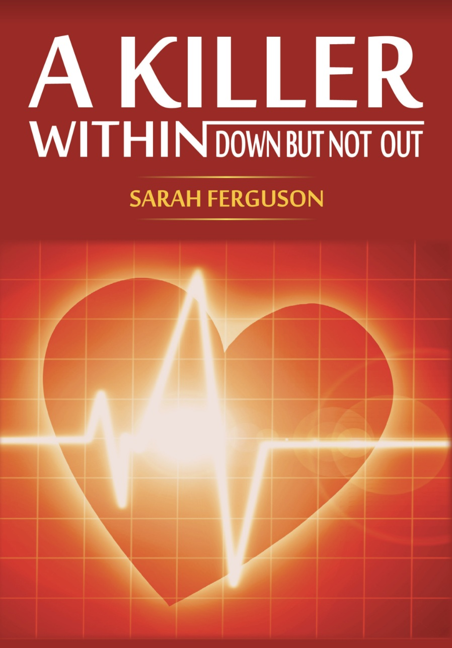 "A Killer withindown but not out - In 1994, Dr. Sarah Ferguson, at the age of forty, is told by physicians that she has six months to live due to heart disease. Armed with the support of her family and her Christian faith, she embarks on a journey of self. She survives triple-bypass surgery, and eventually open heart surgery to implant an LVAD mechanical pump device into her weakened heart ventricle.""It is important to pay attention to yourself and there is great importance in applying the teachings from the book. This is an everyday application that can greatly increase your health and mental well being. You can attain peace and harmony with life, find the meaning of life and the value of self. Realize that you are not a victim of your circumstances - you have a say. So speak with confidence in the Word so you can take control of your life."" - Dr. Sarah Ferguson"