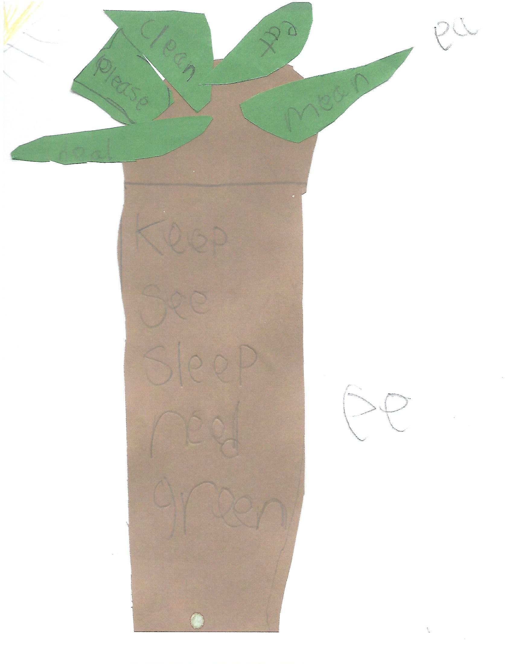 """Leaves """"ea"""" and Tree """"ee"""""""