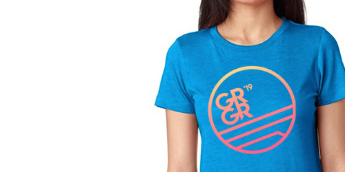 $58 - GRGR 2019 Women's T-Shirt registration (Sold Out)