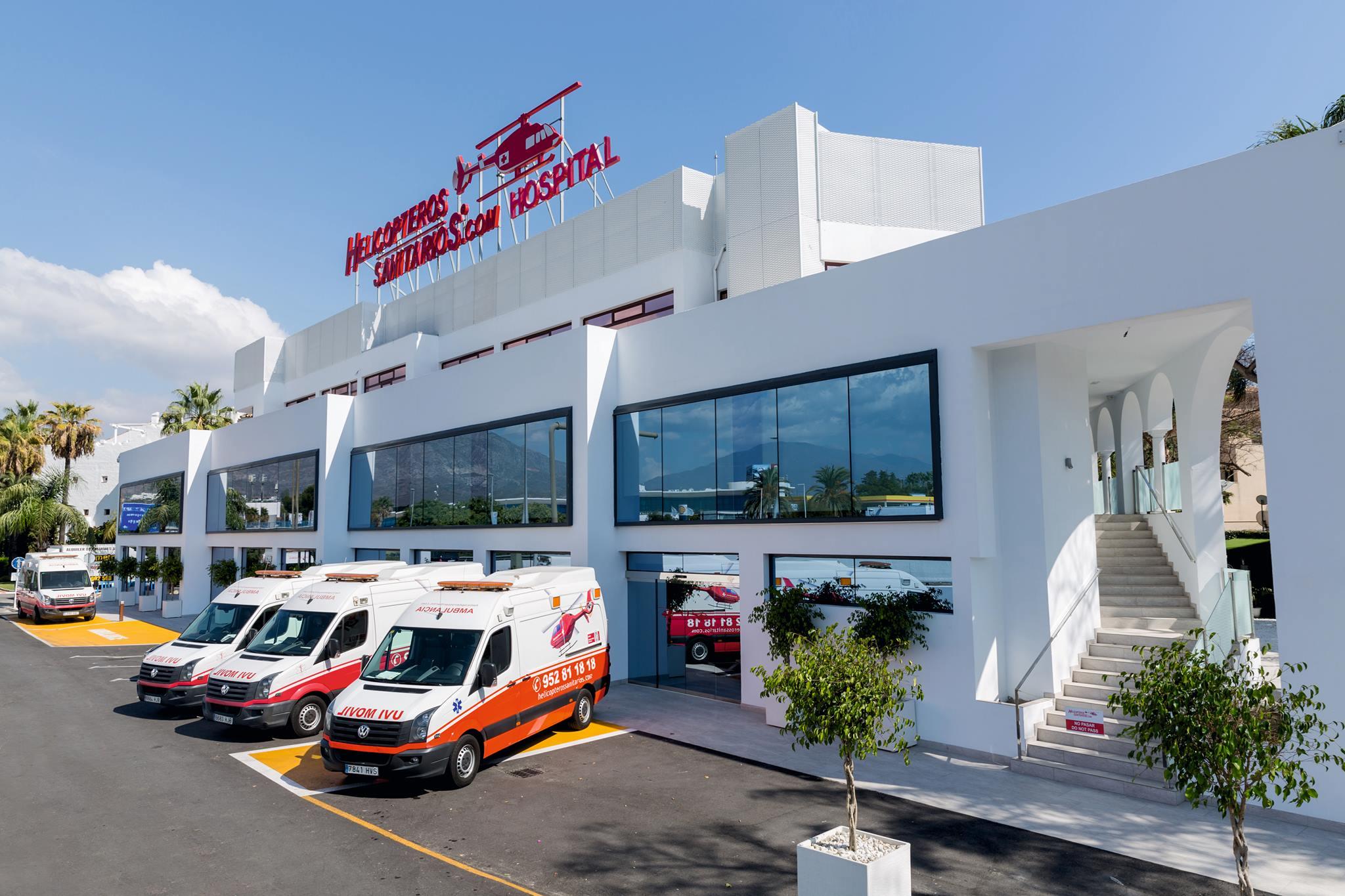 HELICOPTEROS SANITARIOS HOSPITAL   Puerto Banús - Marbella