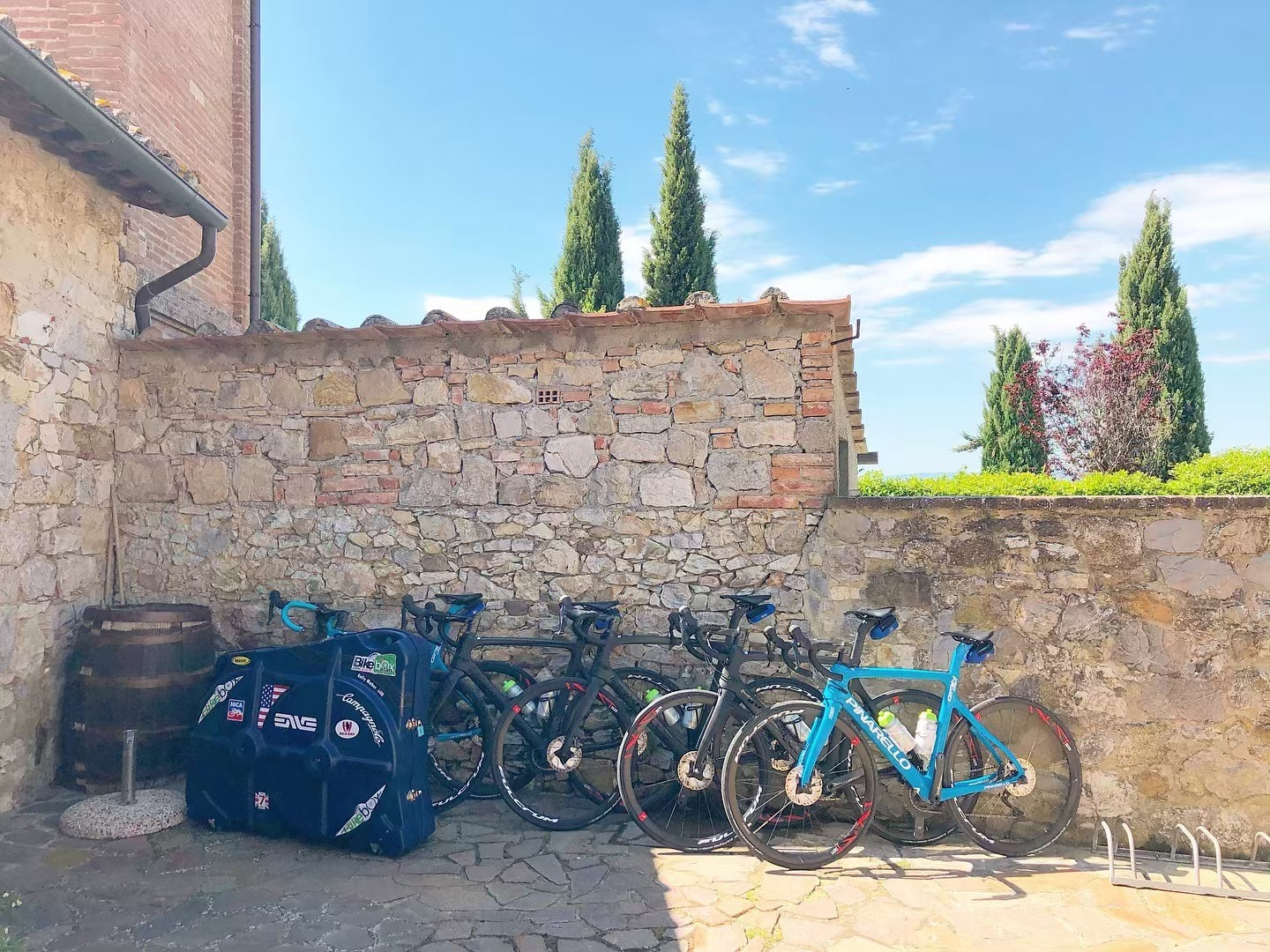 Bike Maintenance Shop - Our bike shop has everything needed to ensure your bike is ready to go on amazing adventures with you. Our ex-pro/mechanic will provide services free of charge and we have a fleet of rental bikes at the ready available to our tour guests.
