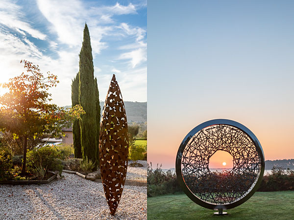 Photography for David Harber Sculptures in Italy