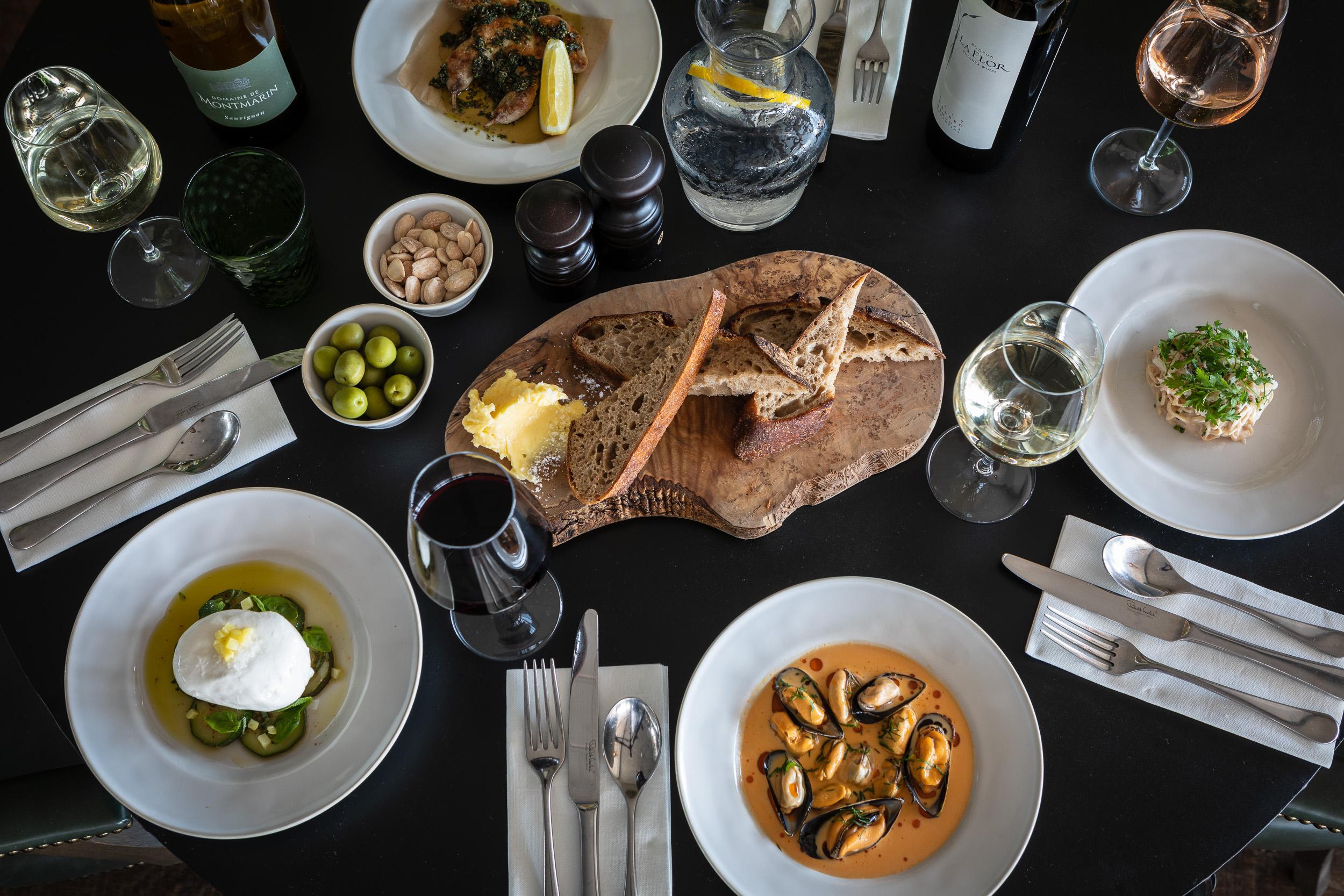 Food Photography at Gara Rock Hotel, Devon