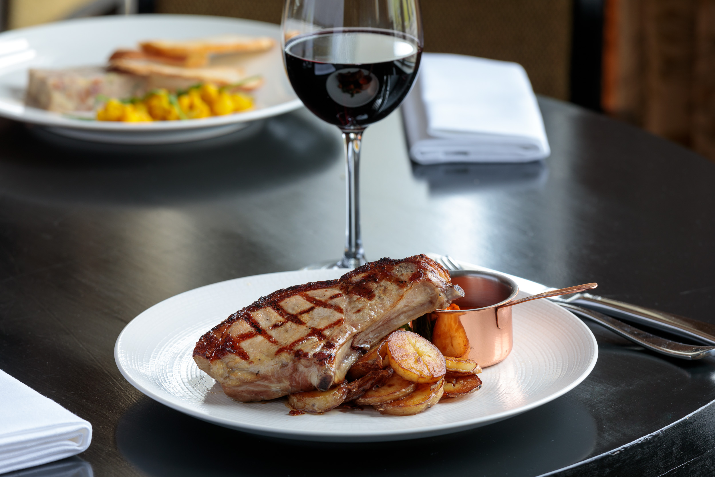 Food Photography at restaurant near Bath