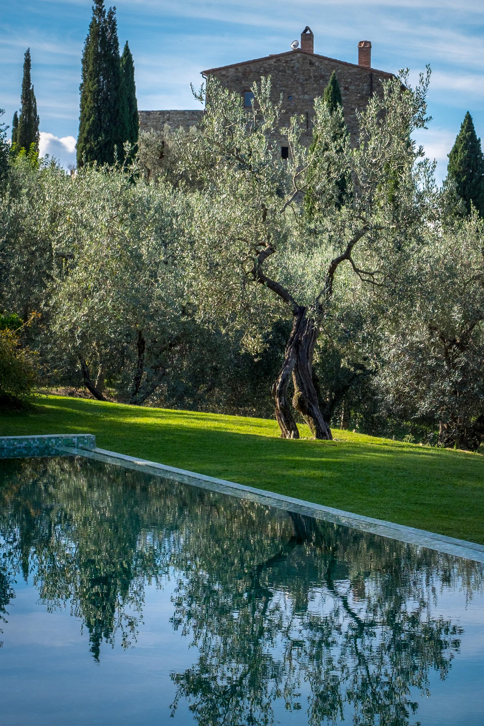 Hotel Photography at Borgo Pignano, Italy