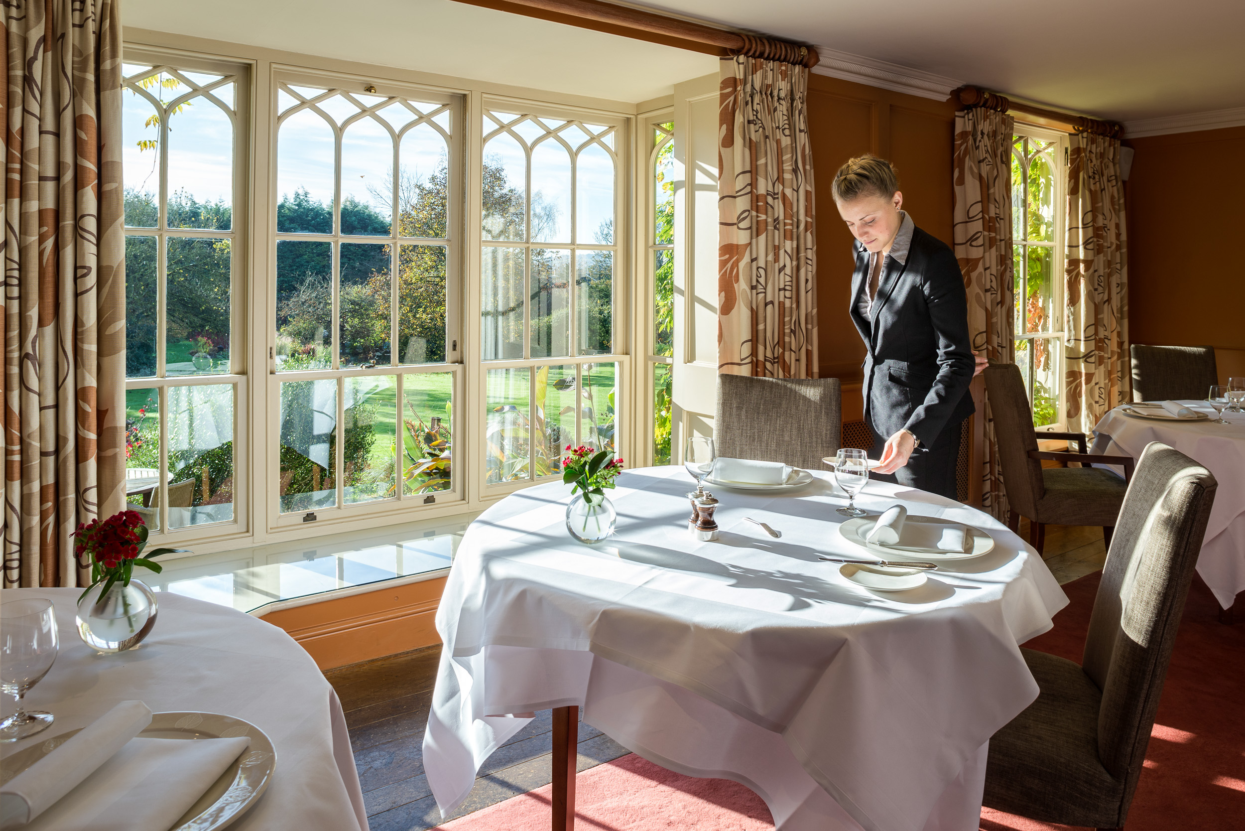 Hotel Photography at The Gidleigh Hotel, Devon