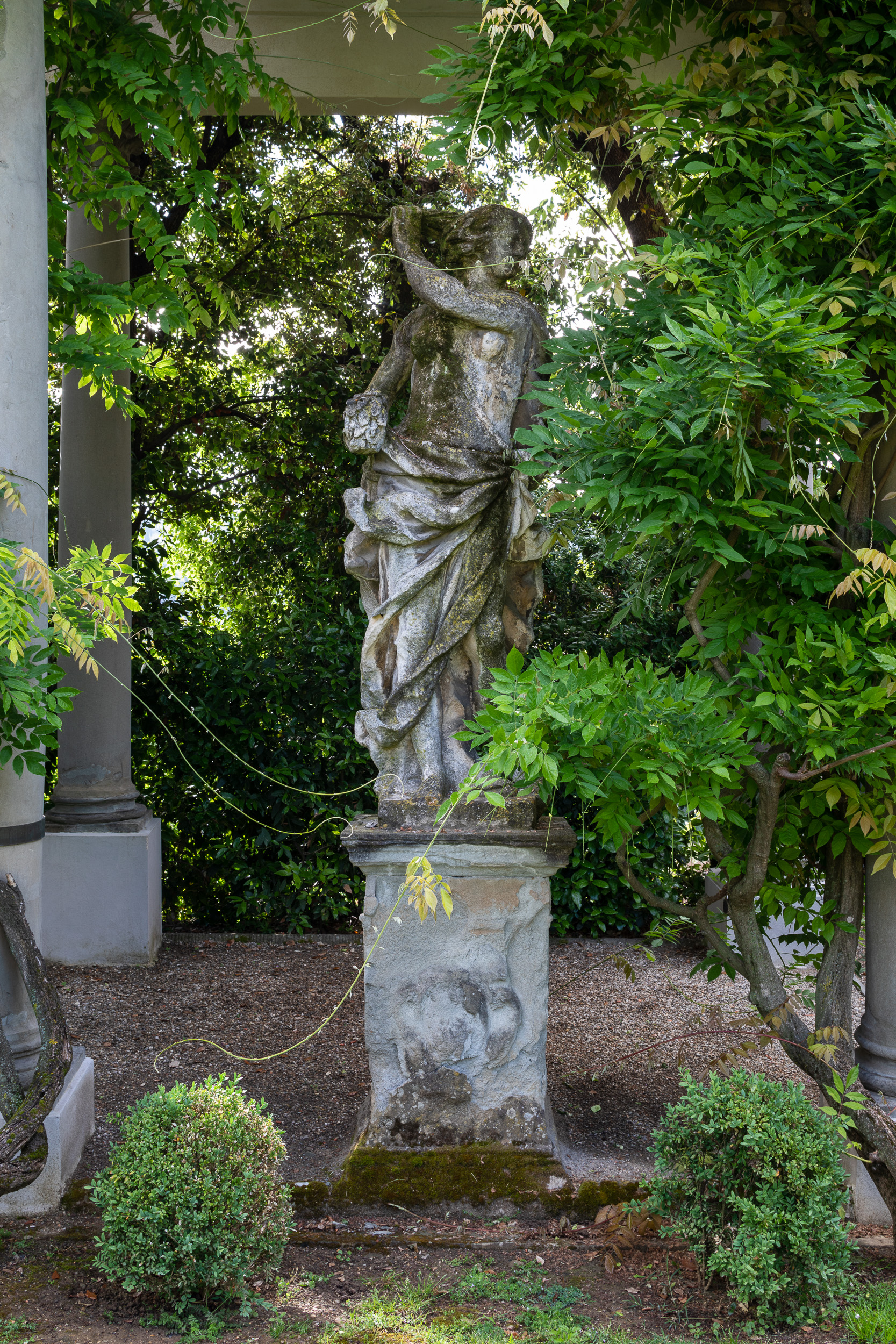 Garden Photography at Villa La Pietra, Italy