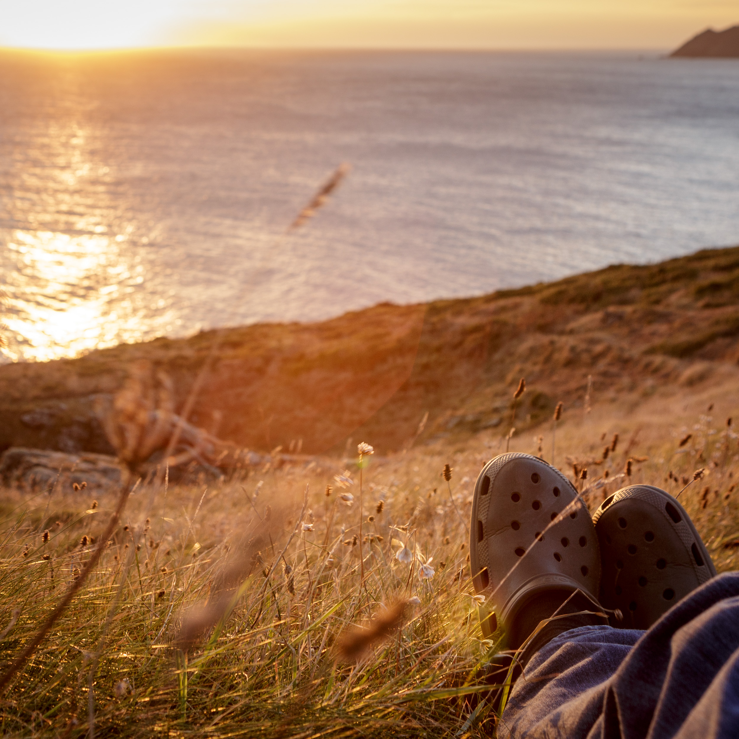 Chilling on the South West Coast Path…