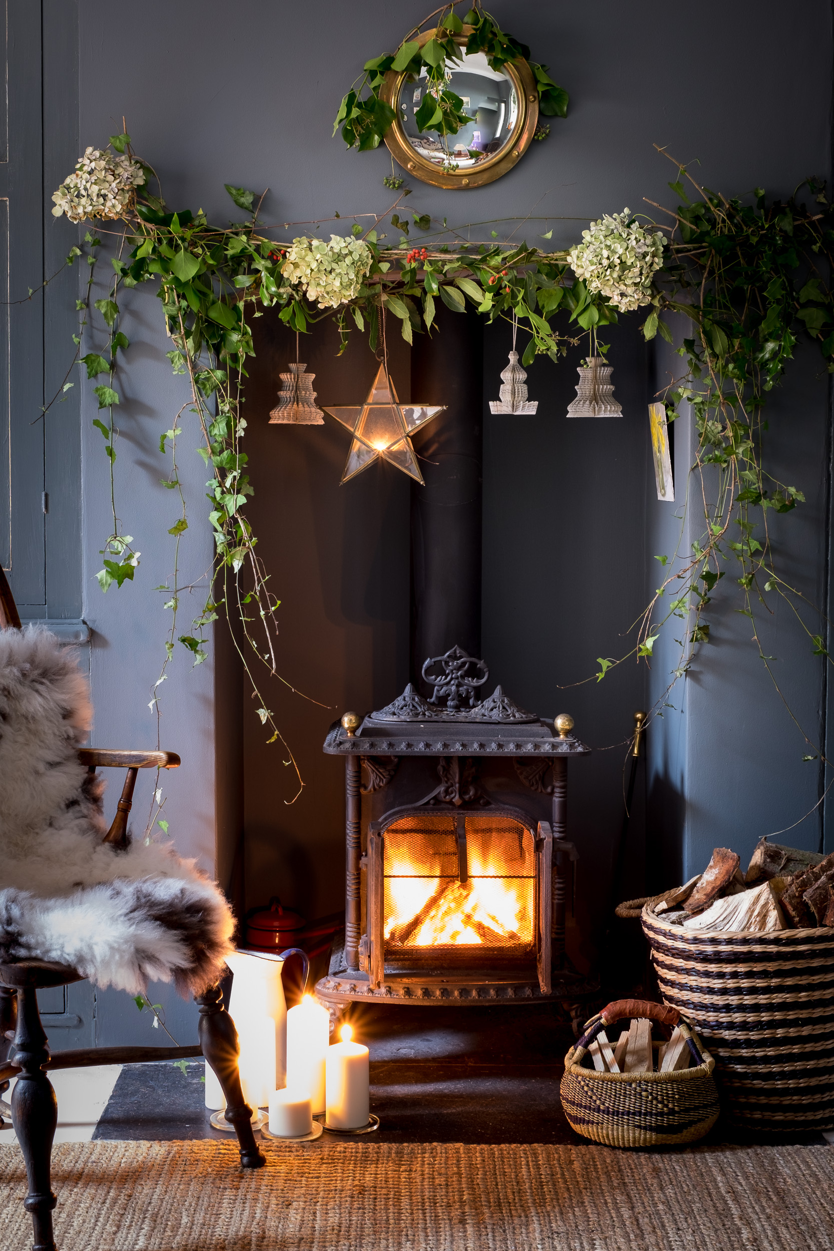 Christmas Interior Photography, Devon