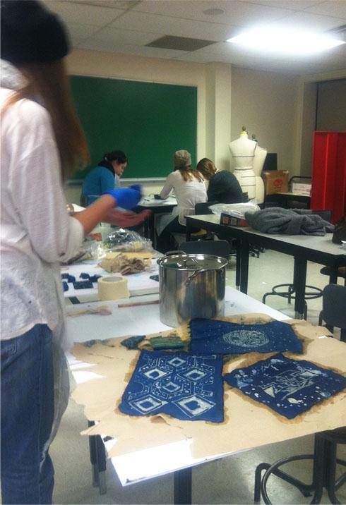 Marist College, Textiles course, BFA